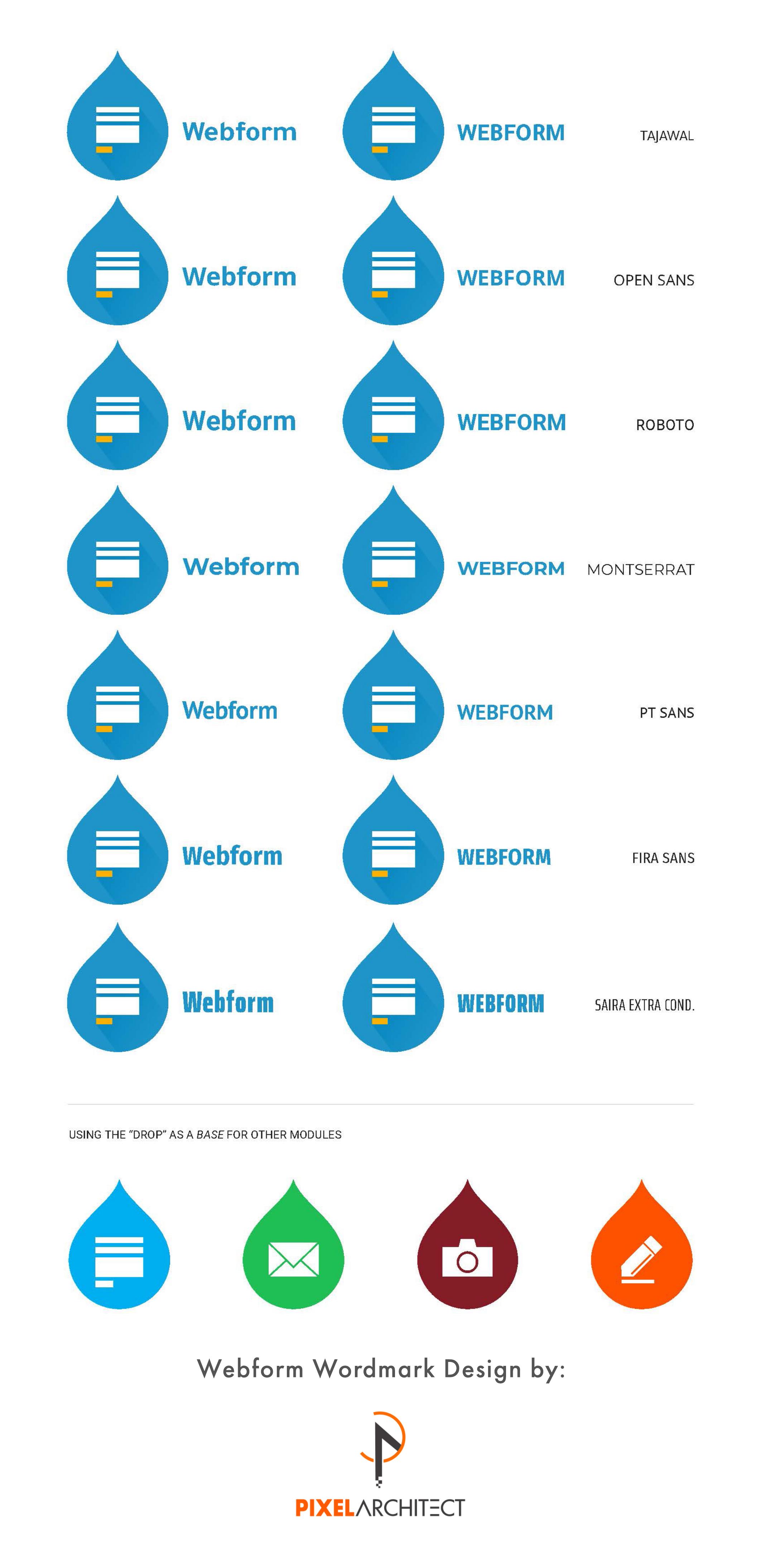 Create a logo and header for the Webform module [#3026111