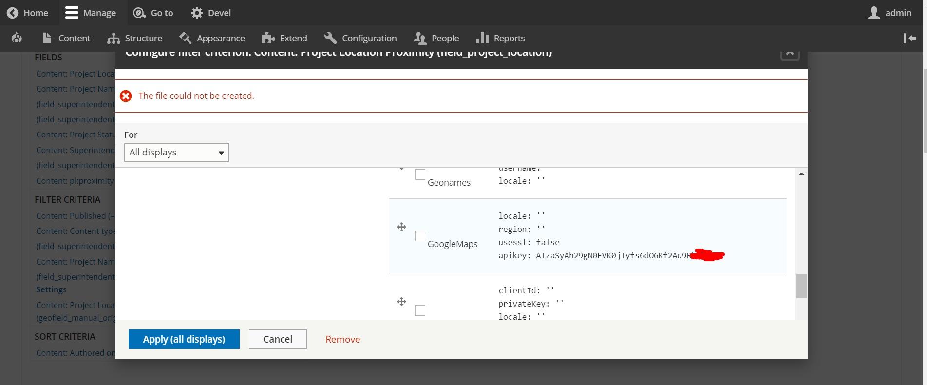 Proximity Filter with a Address Geocode (not Lat/Long values