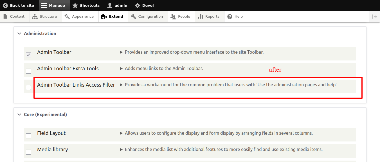 module description text doesn't break in new line resulting