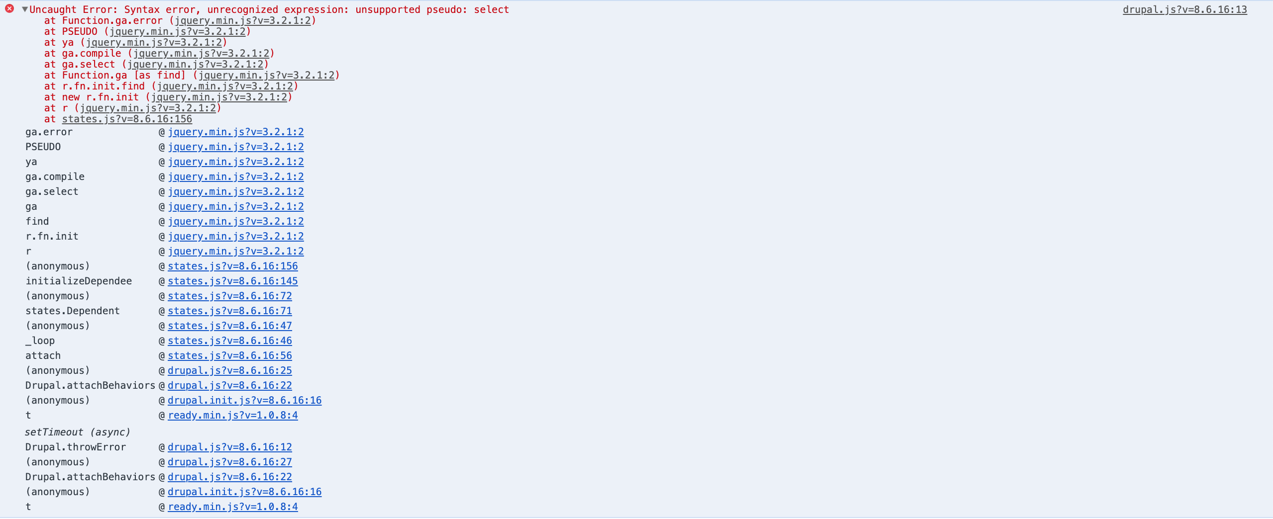 States API doesn't work with multiple select fields [#1149078