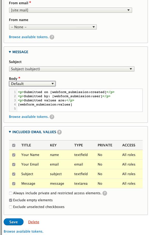 Webform + Swiftmailer + HTML E-Mail empty Body [#3070858] | Drupal org