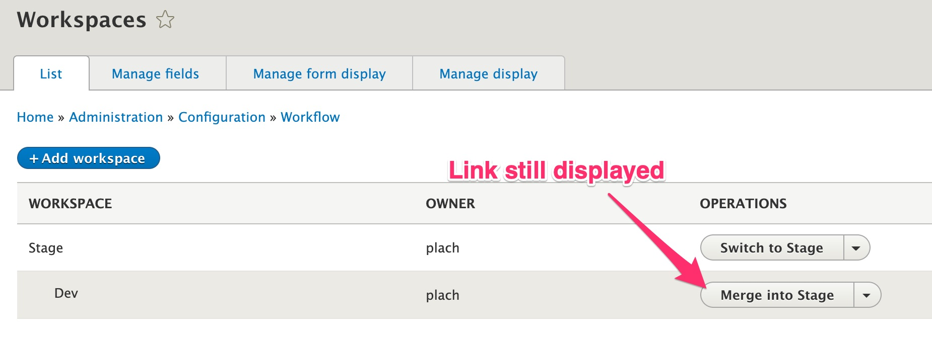 Add the ability to create sub-workspaces in order to enable