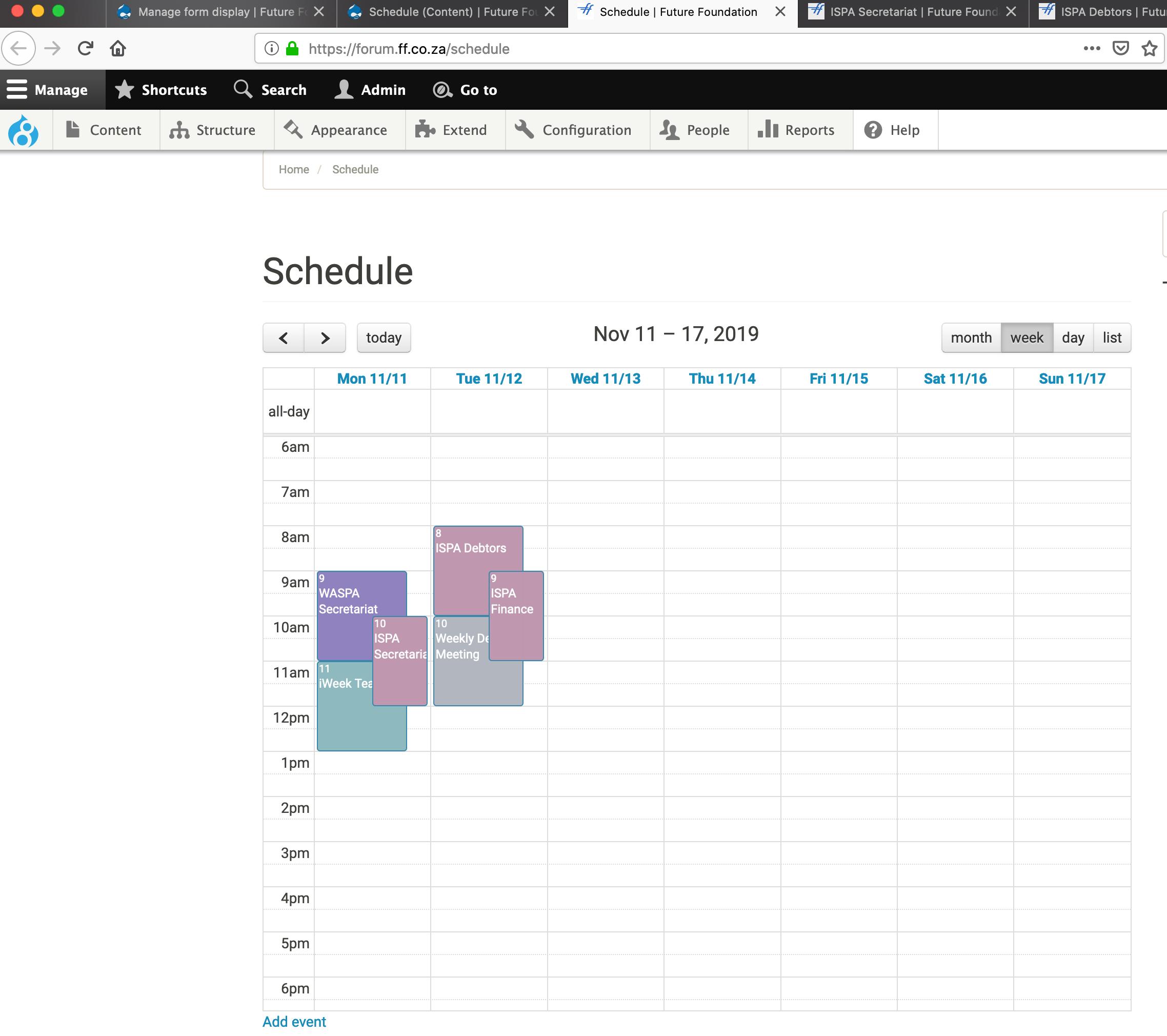 Calendar Display Overrun By One Hour 3092013 Drupal Org