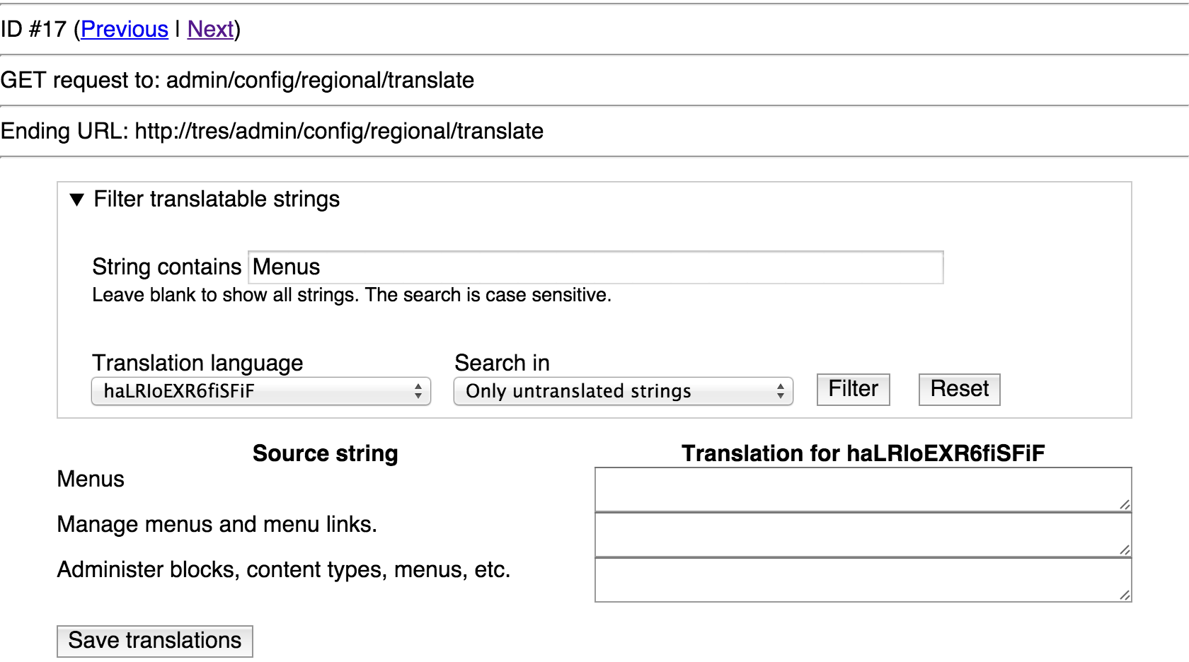 Locale DB schema case insensitive (blob) only on MySQL not