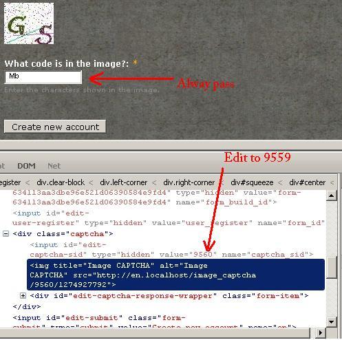 Fix CAPTCHA session reuse [#810534] | Drupal org