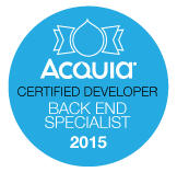 Acquia Certified Developer - Back End Specialist 2015