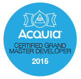 Acquia Certified Grand Master Developer 2015