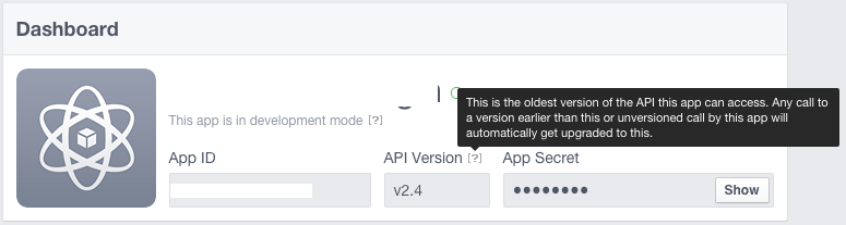 Facebook didn't provide an e-mail address - API 2 4 and 2 5