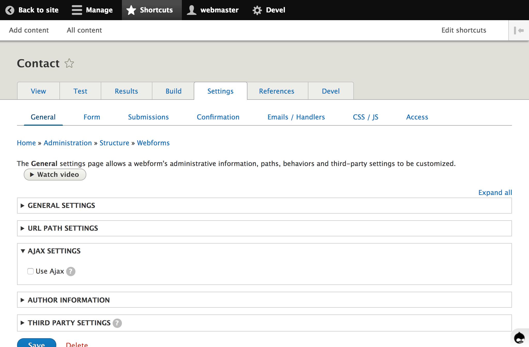 Webform inside a modal bootstrap [#2934614]   Drupal org