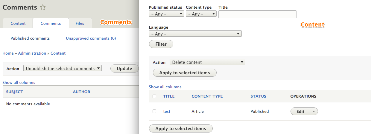 Improve usability of Views bulk action form in Seven theme ...