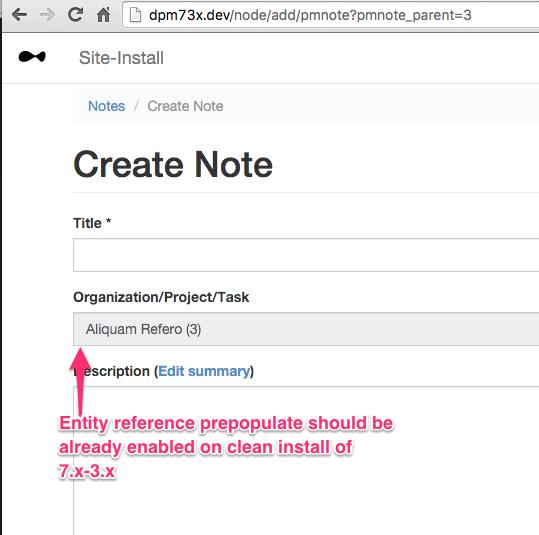 Recursive Field for Drupal PM [#2115545] | Drupal org