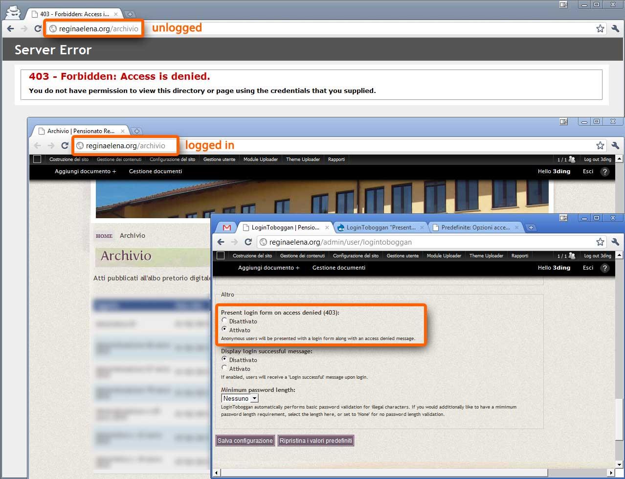 403 login form does not work on IIS 7 (windows server