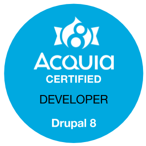 Acquia Certified Developer Drupal 8