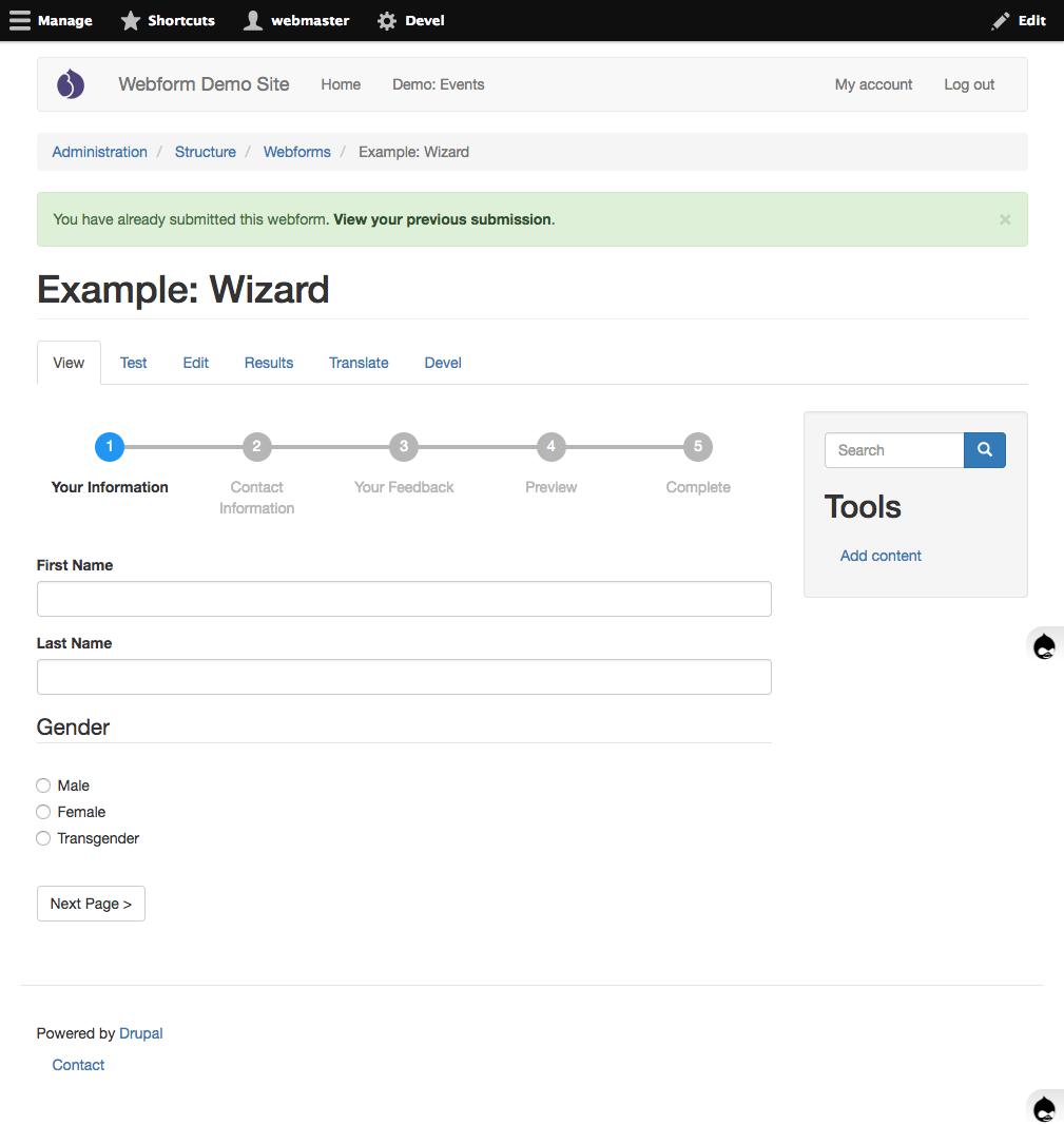 improve wizard progress tracker 2887033 drupal org
