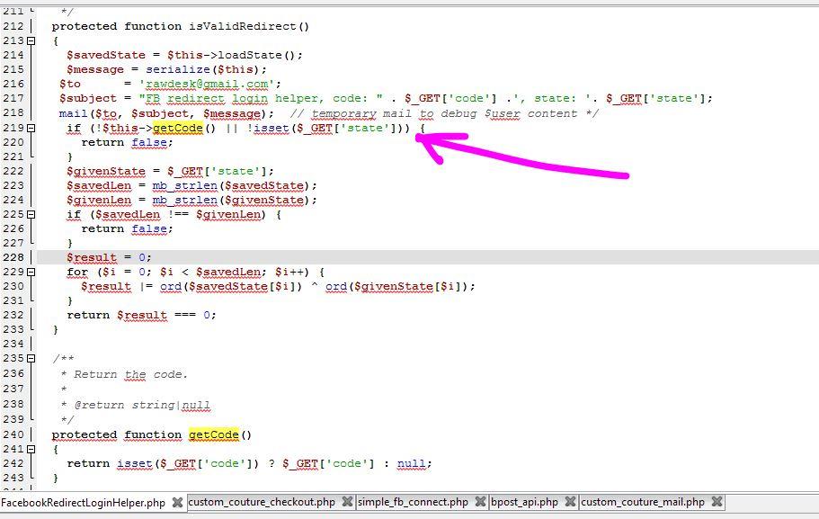 php url parameters