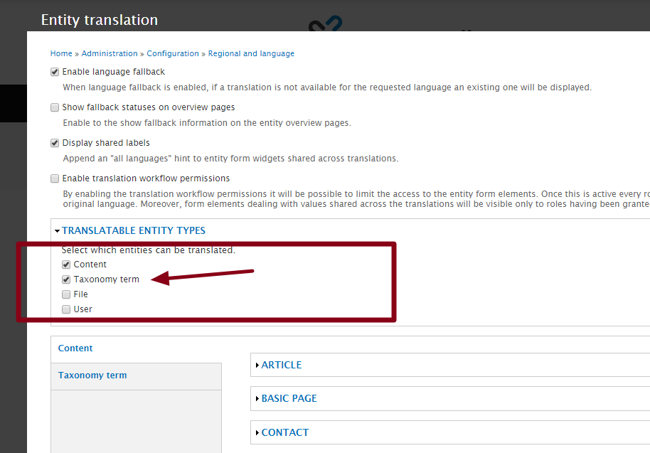 Support Entity Translation for Synonyms used with Search API