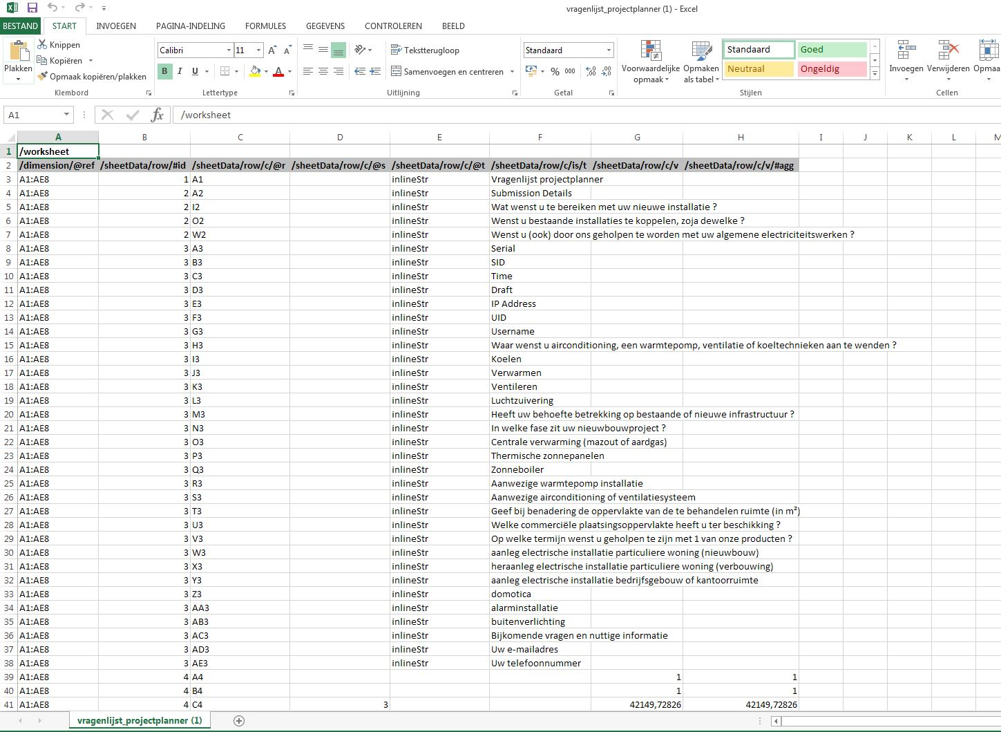 Excel reports Webform export files are corrupted when some