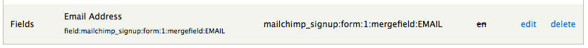 Mailchimp string in i18n UI