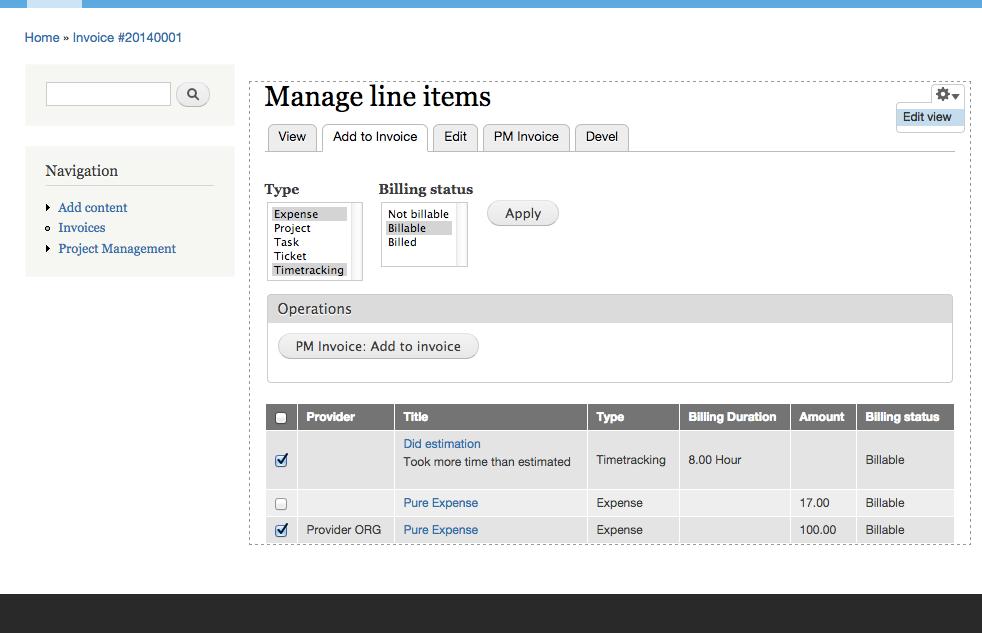 Future Of PM Invoice Module Drupalorg - Invoice module