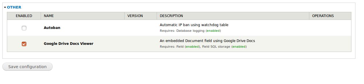 D7] Google Drive Docs Viewer [#2778257] | Drupal org