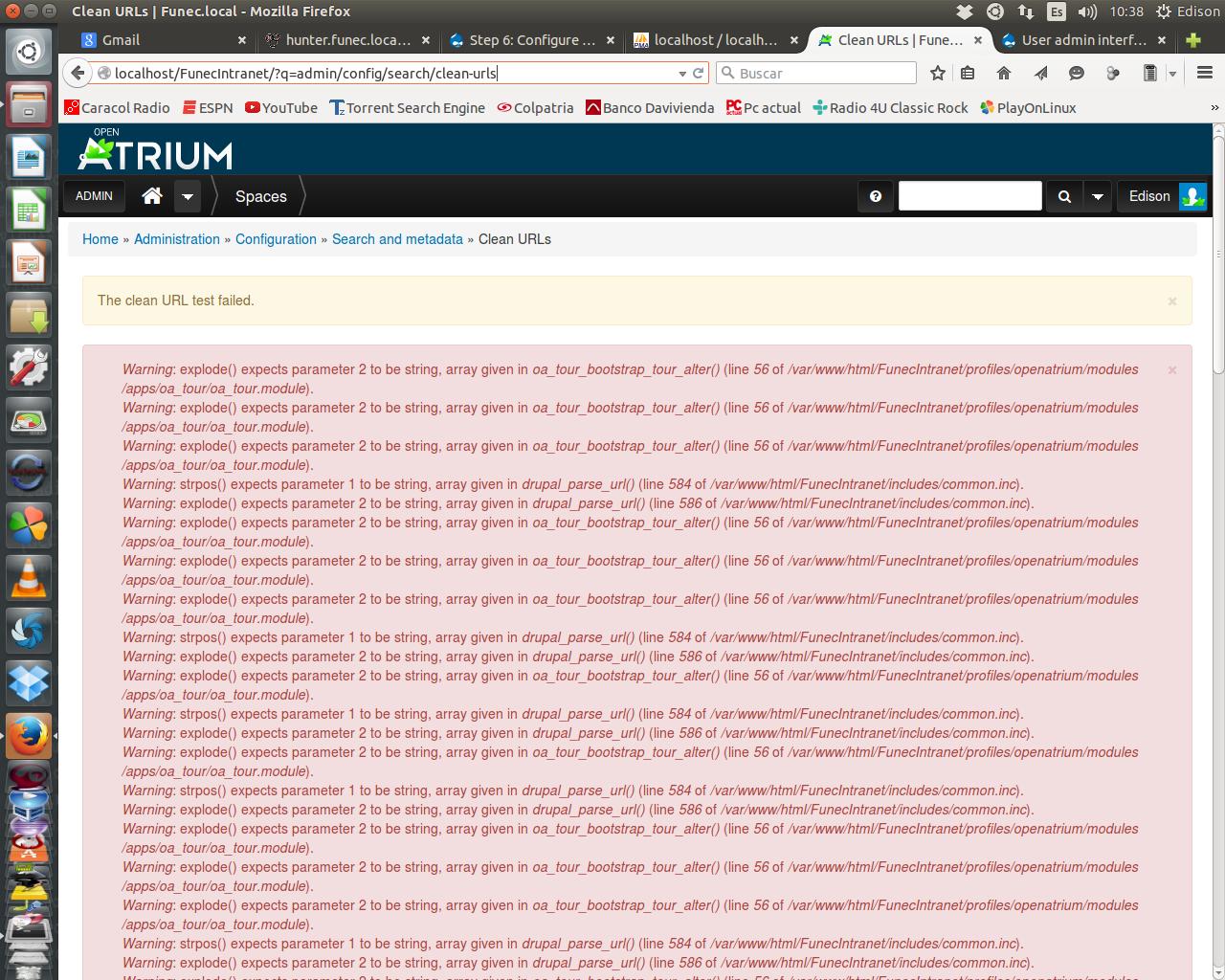 User admin interface [#2522018] | Drupal org