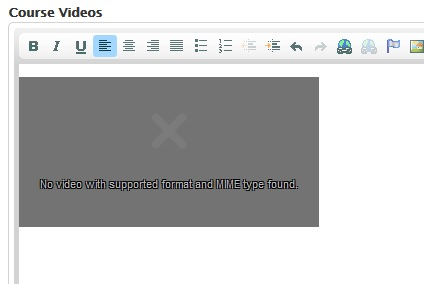 how to solve no video with supported format and mime type found No video with supported format and MIME type found [#2176297 ...