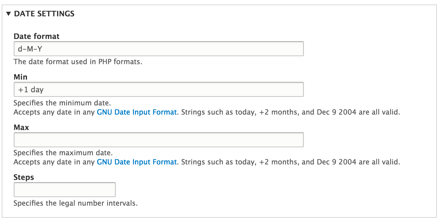 Min date option not working with jQuery UI datepicker