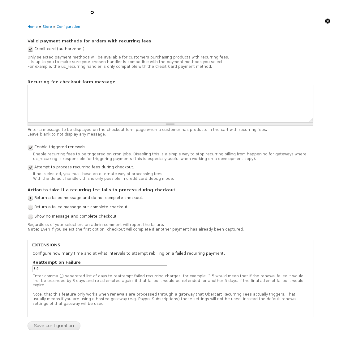 cannot enable authorize net arb payment method for orders 6 · recurring payments dr7dev 2015 03 08 10 43 46 png