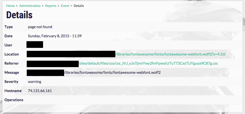 Failed to load resource: fontawesome-webfont woff2 returns