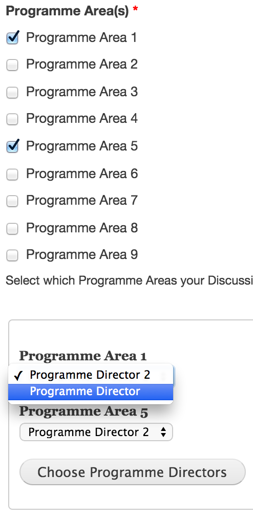 Form API AJAX - Dynamic dropdown fields options dependent on another