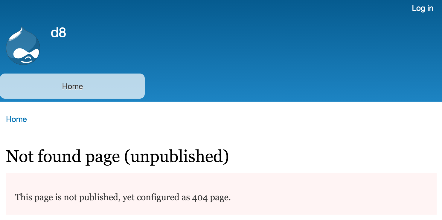 Access bypass for custom error pages [#2678674]   Drupal org