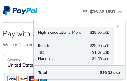 Send itemized shopping cart to PayPal WPS [#1301570] | Drupal org