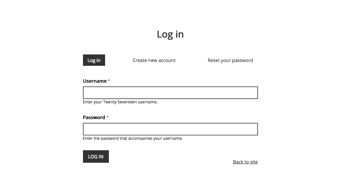 Style Login Pages [#2840660] | Drupal org