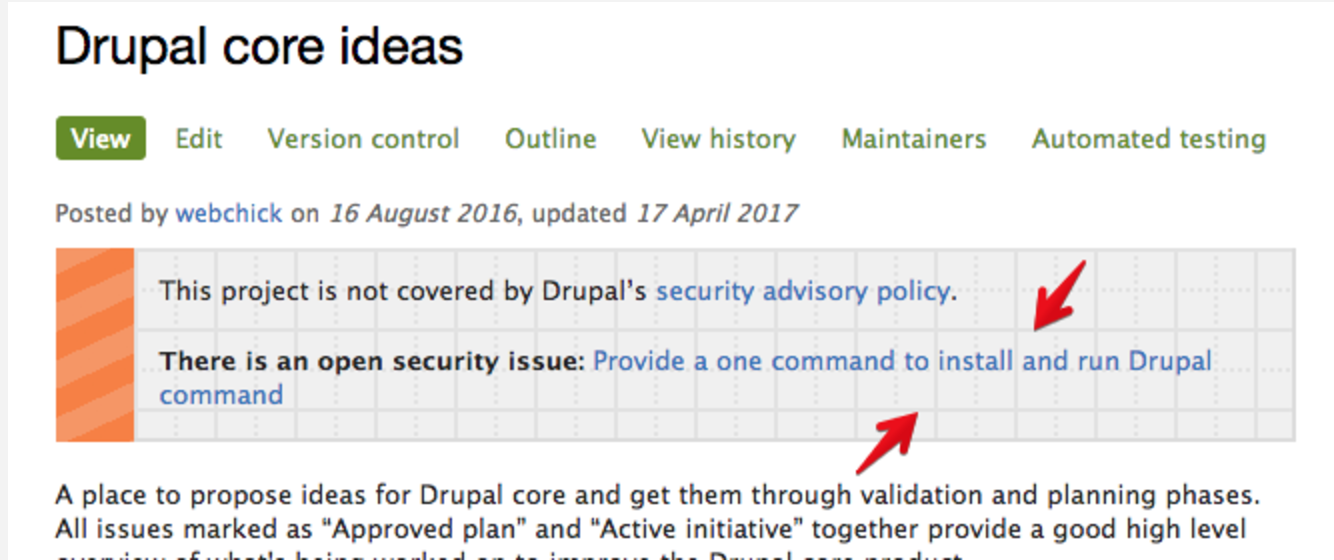 drupal patch command not found