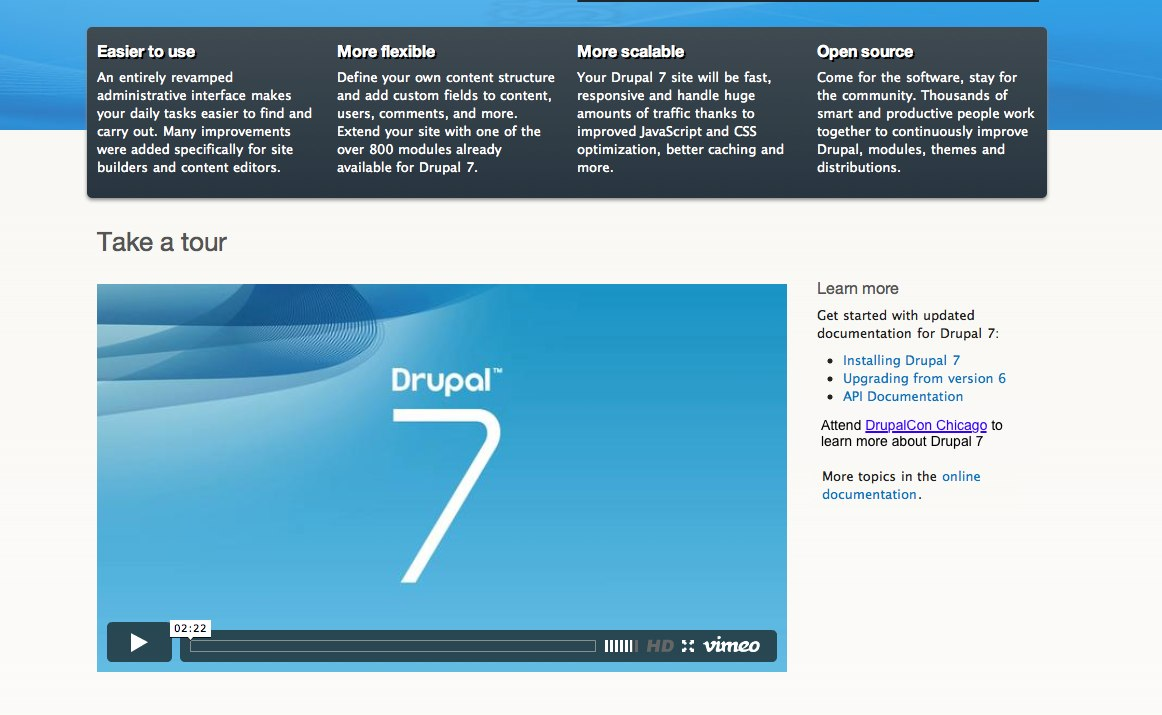 Write the drupal 7 release announcement 953314 drupal screen shot 2011 01 03 at 23049 pmg baditri Gallery