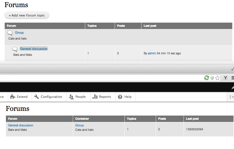 try and build forum and forum tid with views 2207263 drupal org