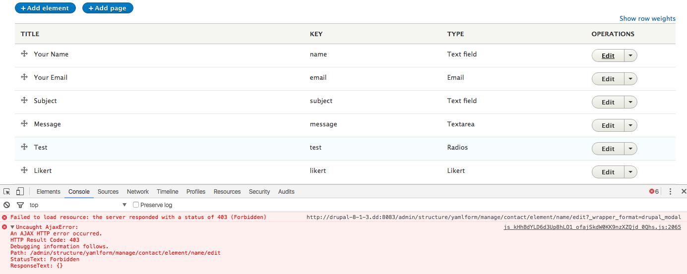 Edit any YAML form