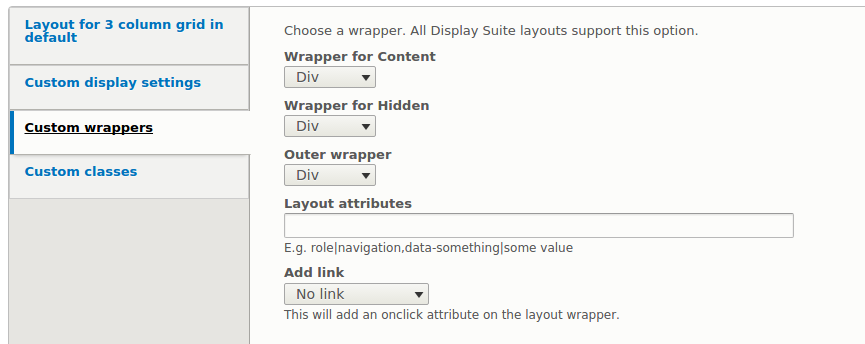 View mode layouts are adding a stray double-quote in element tag