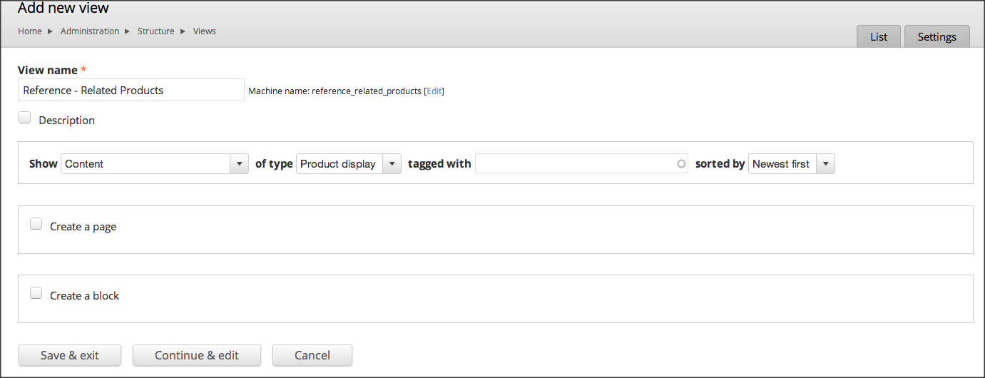 Configuring Entity Reference View Widget | Drupal org