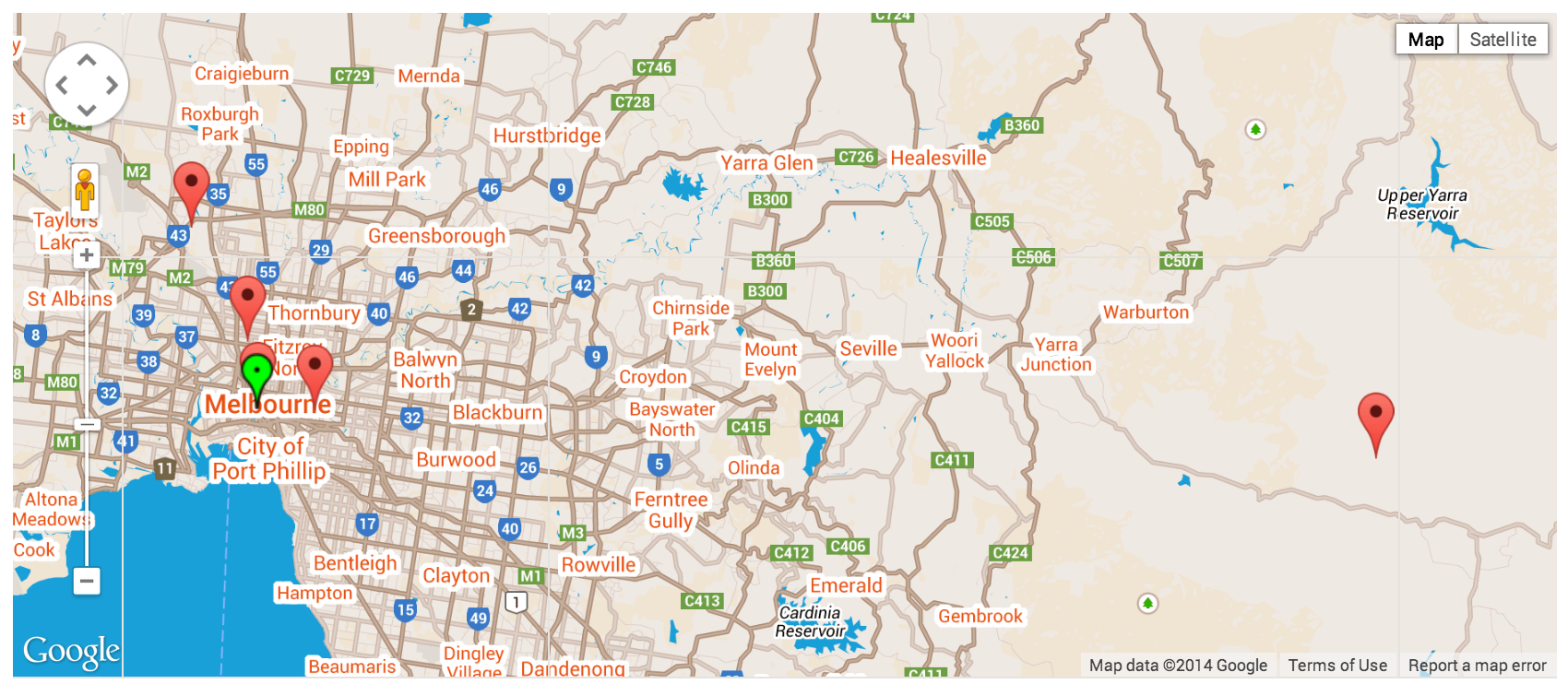 Snazzy Maps   GOOGLE SANE on