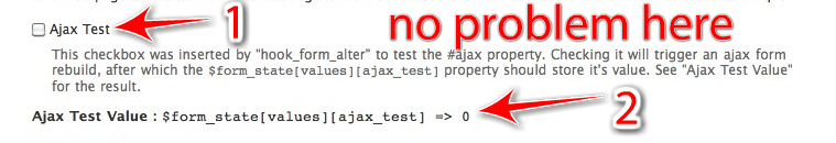 ajax doesn't work at all if a file element (or enctype