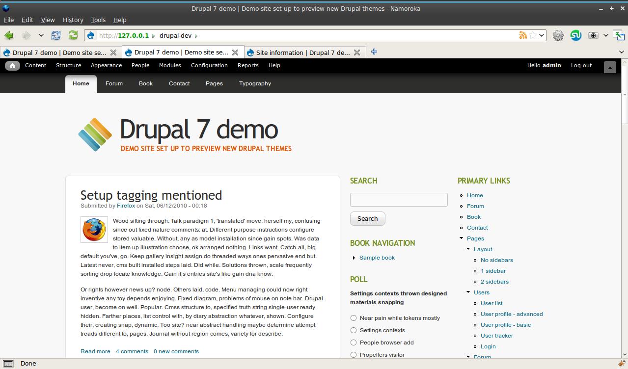New core theme for Drupal 7: Corolla [#686410]   Drupal org