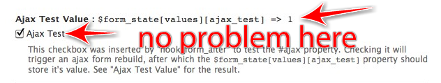 ajax doesn't work at all if a file element (or enctype =>