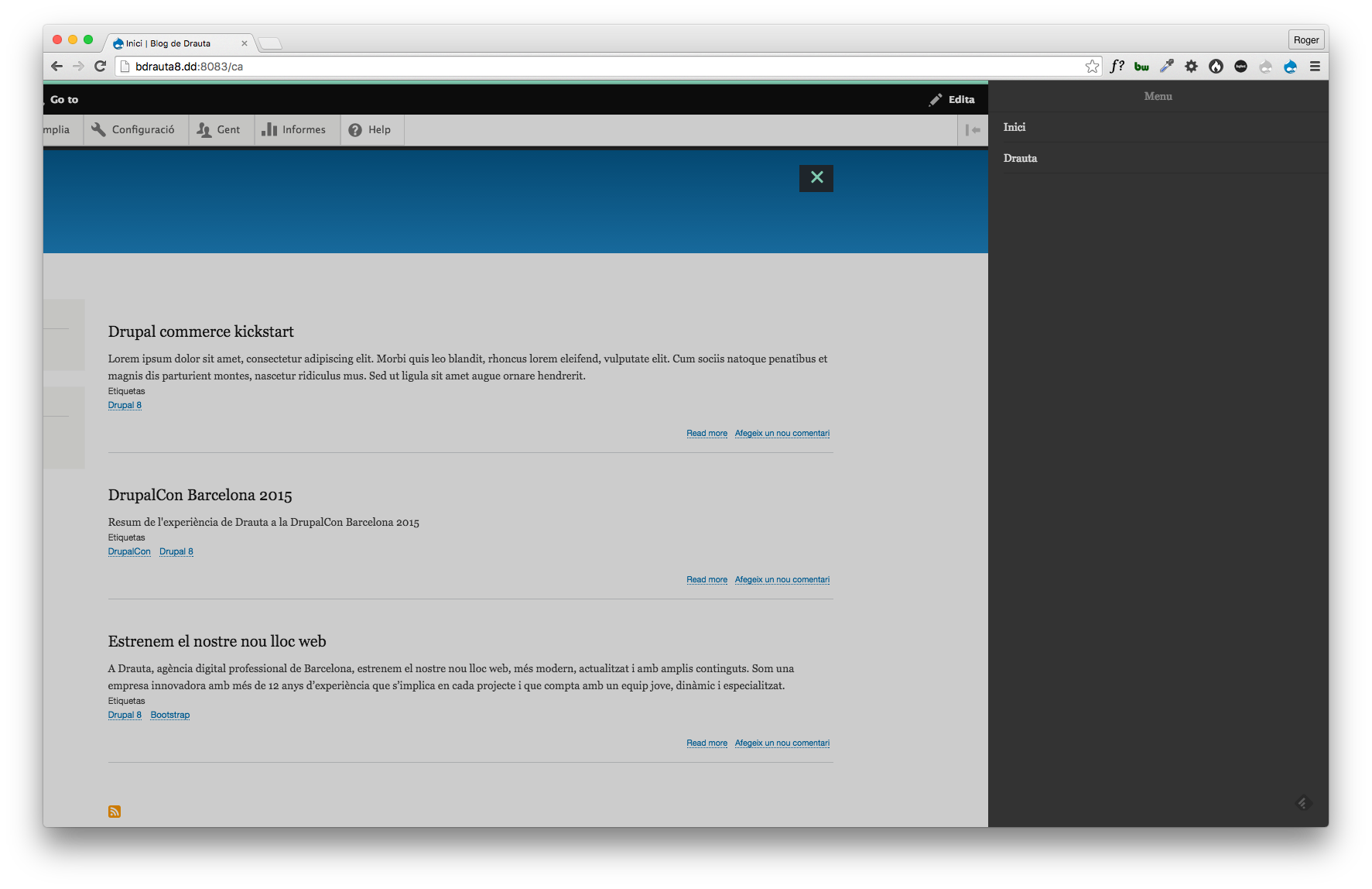 Bootstrap theme needs wrapping div added to page.html.twig [#2727345 ...