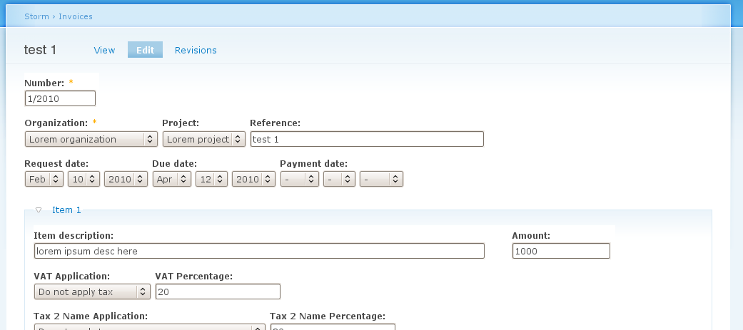 Customizable Invoice Templates Drupalorg - Customizable invoice
