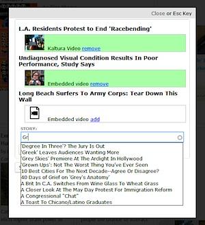 Case Study - Annenberg Social News Platform