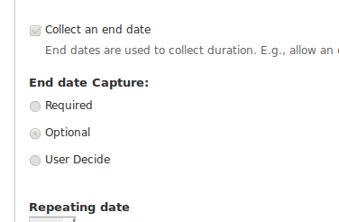 Collect Enddate