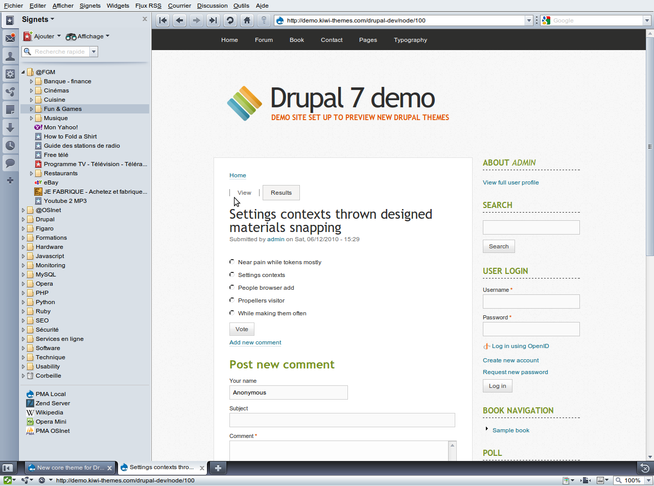 New core theme for Drupal 7: Corolla [#686410] | Drupal org