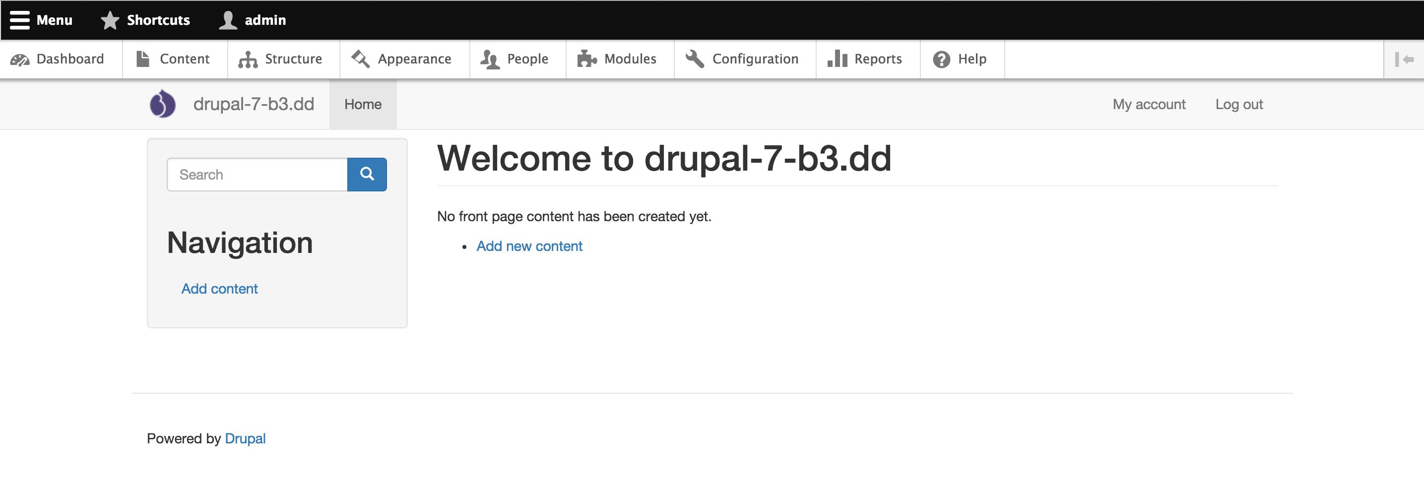 Navbar module integration [#2251919] | Drupal org