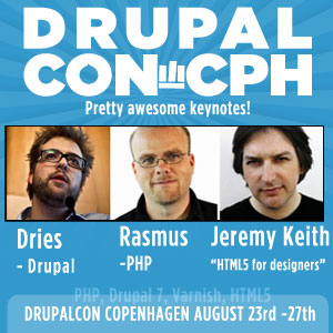 DrupalCon Copenhagen Keynotes